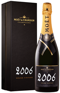 Moet & Chandon Champagne Brut Grand Vintage 2006 750ml